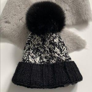 Real Fox fur Kyi Kyi Canada winter hat